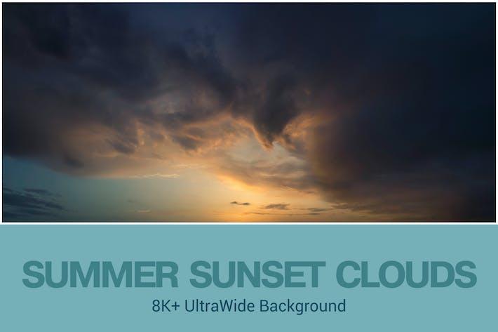 Thumbnail for 8K+ UltraHD Sommer-Sonnenuntergang Hintergrund