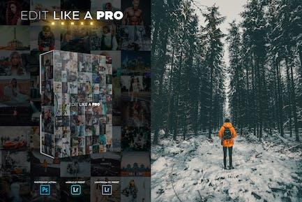 Редактировать как PRO 3-й - Photoshop & Lightroom