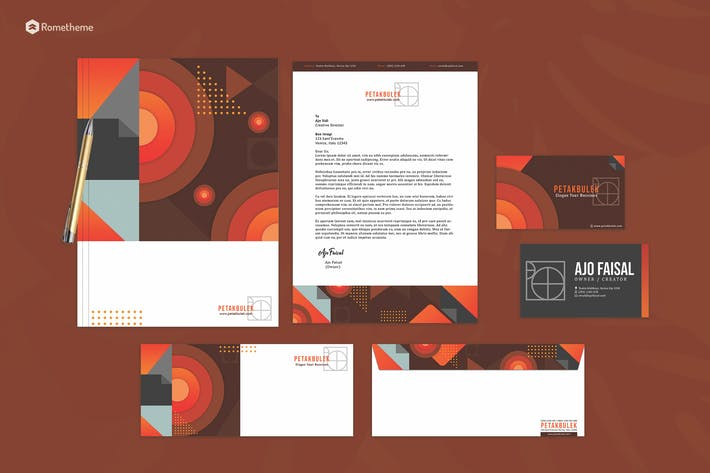 Thumbnail for PetakBulek - Modern Stationery