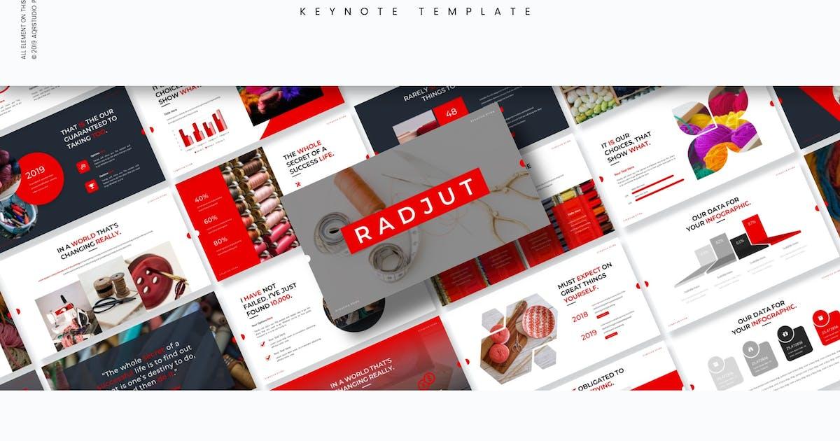 Download Radju - Keynote Template by aqrstudio
