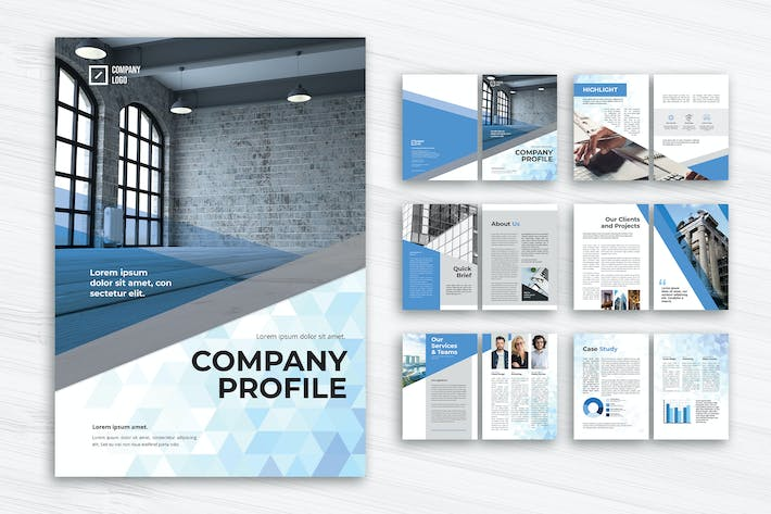 Thumbnail for Corporate Company Profile