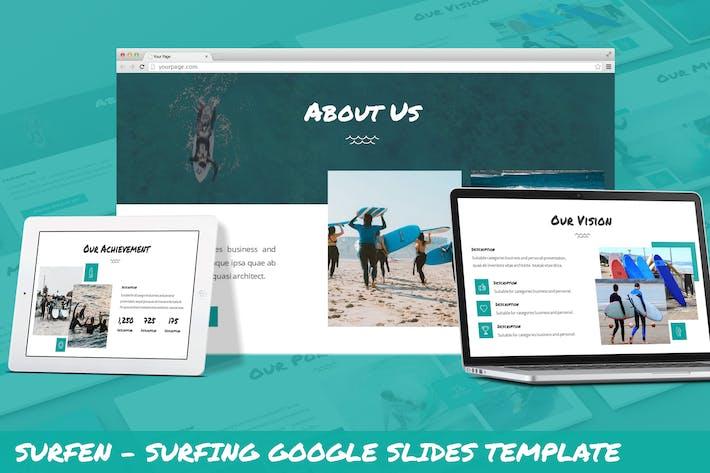 Thumbnail for Surfen - Surfing Google Slides Template