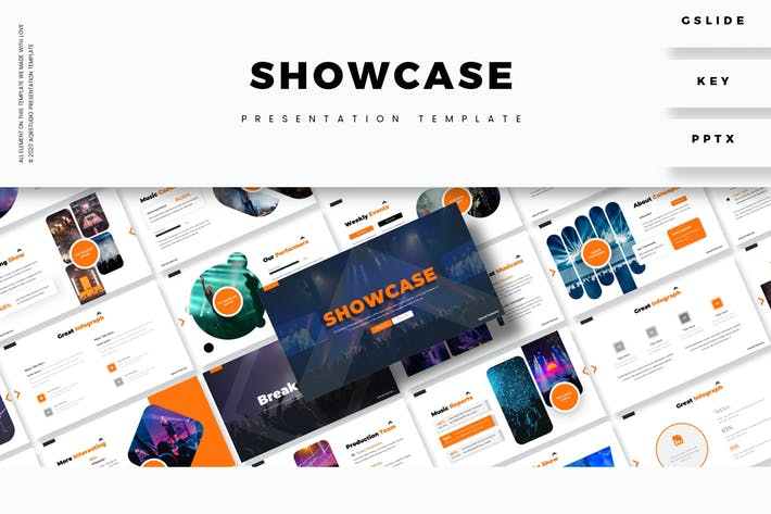 Thumbnail for Showcase - Presentation Template