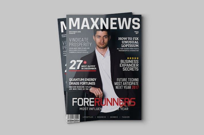Thumbnail for Maxnews Magazine