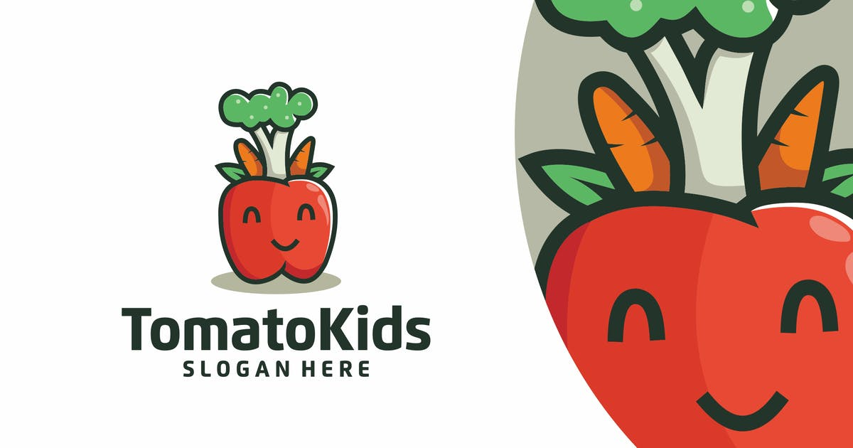 Download Tomato Logo Design v.PW17 by GranzCreative