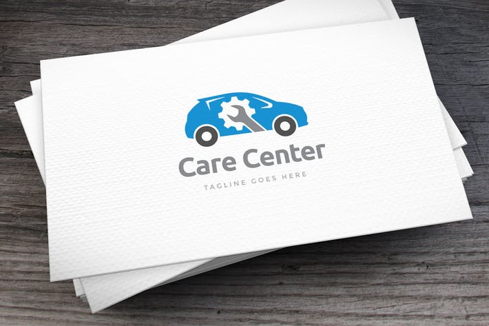 Thumbnail for Care Center Logo Template