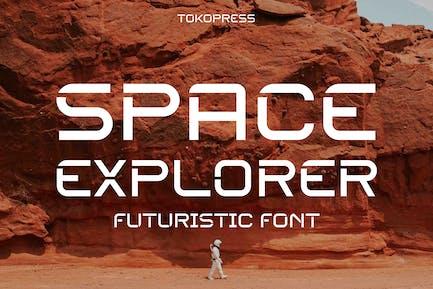 SPACE EXPLORER - police futuriste