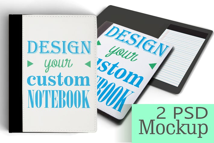 Thumbnail for Personalized NoteBook Mockup/DIY