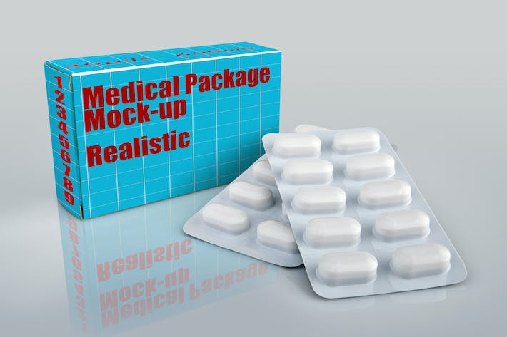 Thumbnail for Medical box-Mockup-01