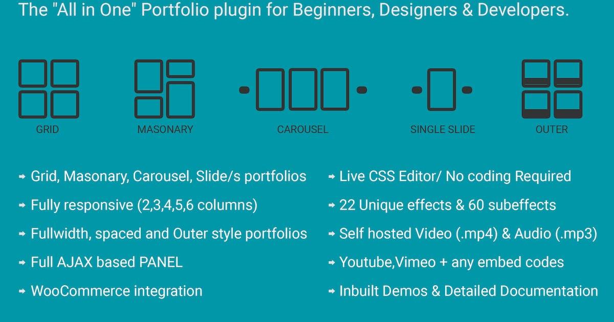 Download Ultra Portfolio - WordPress by themepassion