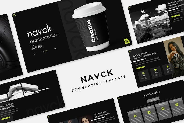Thumbnail for Navck - PowerPoint Template