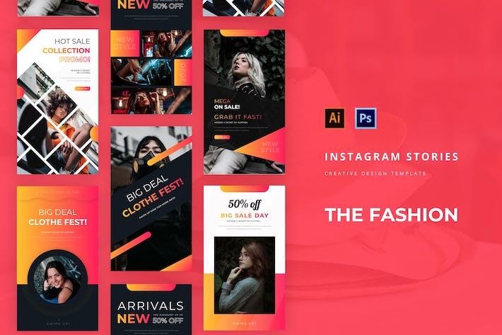Thumbnail for Histoire Instagram de mode