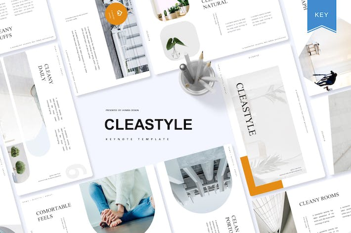Thumbnail for Cleastyle | Keynote Template