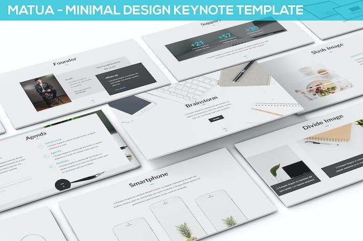 Matua - Minimal Design Keynote Presentation
