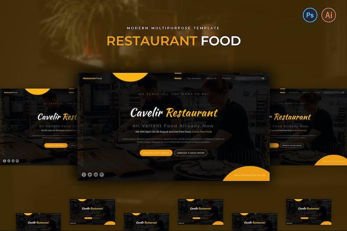 Thumbnail for Restaurant Food Hero Header