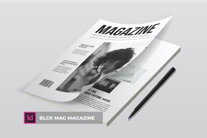 Thumbnail for Blck Mag | Magazine Template