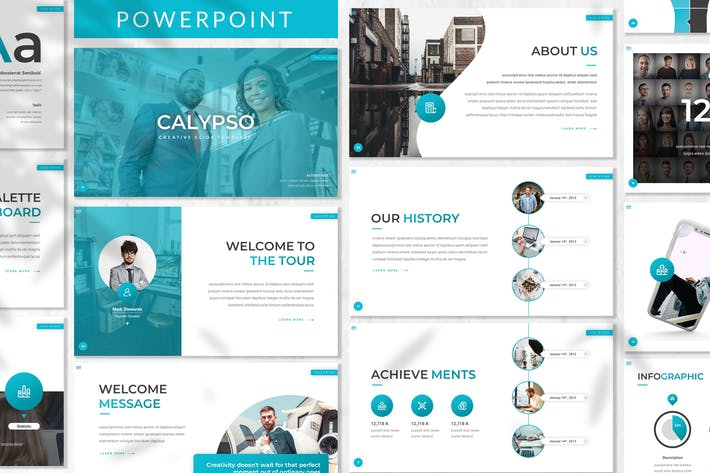 Thumbnail for Calypso - Business Powerpoint Template