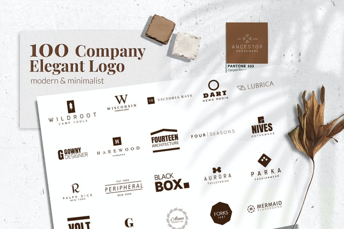 Thumbnail for Elegant Company Logo