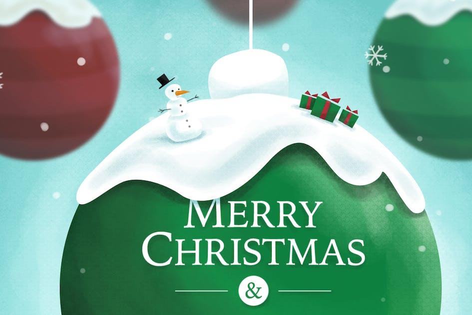 Christmas Ball von RZDESIGN auf Envato Elements