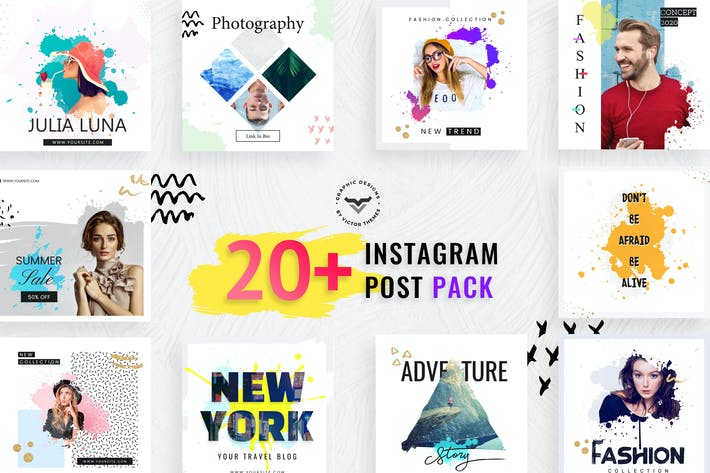 Thumbnail for Instagram Post Social Media Template