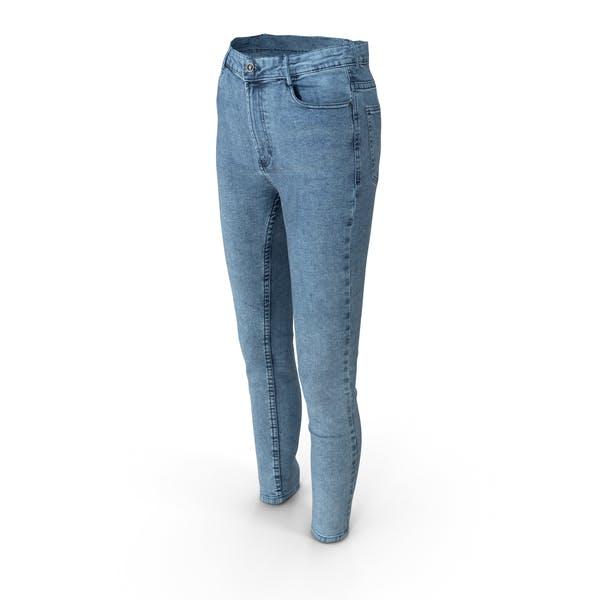 Женские джинсы Синий