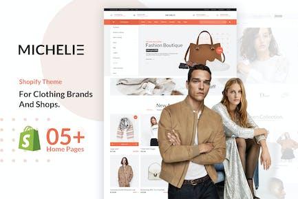 MICHELIE | Minimal & Clean Fashion Shopify Theme