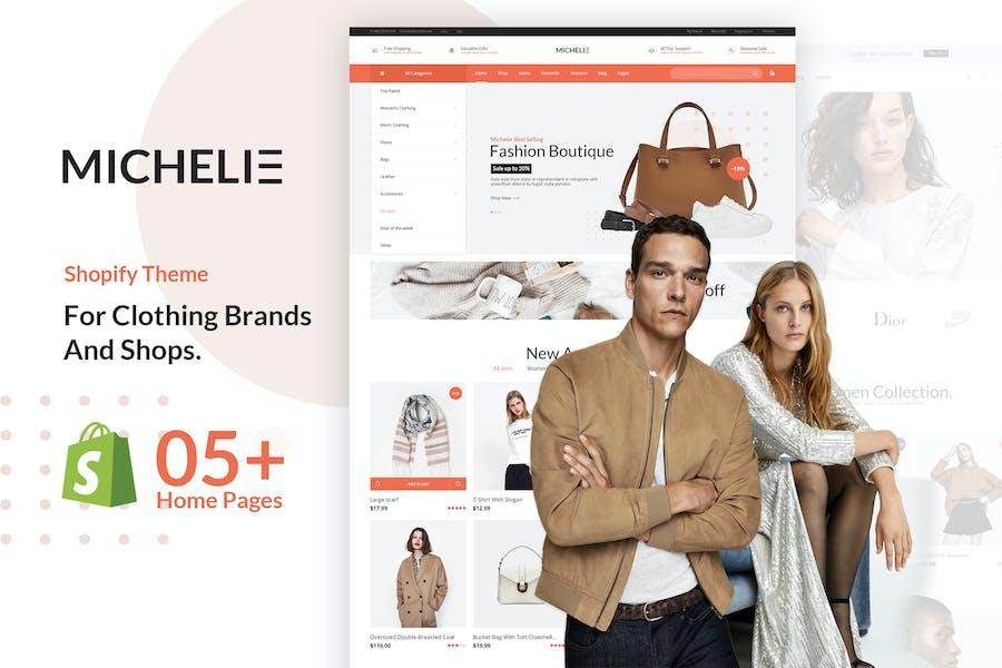 MICHELIE   Minimal & Clean Fashion Shopify Theme