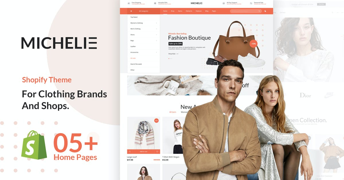 Download MICHELIE by EngoTheme