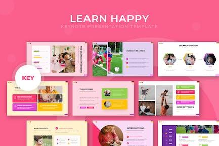 Learn Happy - Keynote Template