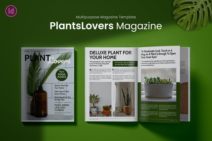 Thumbnail for Plant Lovers Magazine