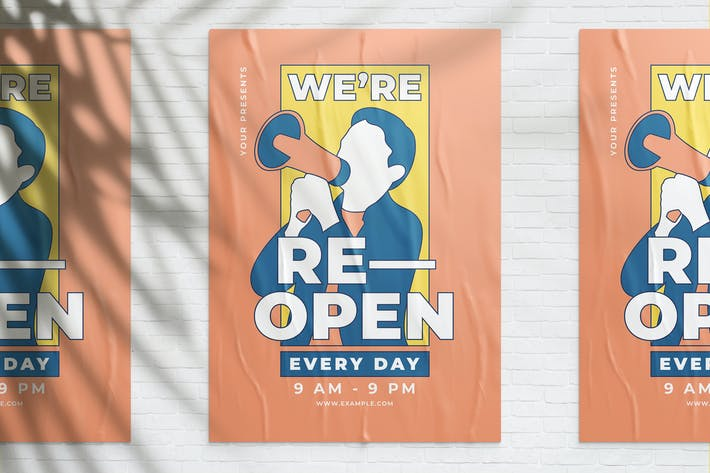 Thumbnail for We are Re-opening Flyer