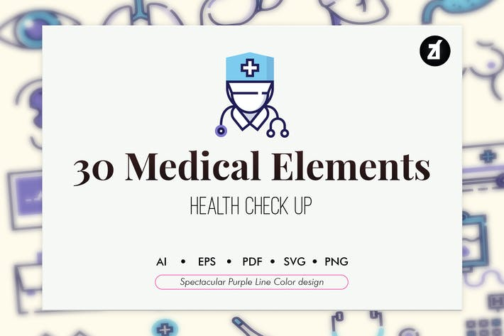 Thumbnail for 30 Medical Elements