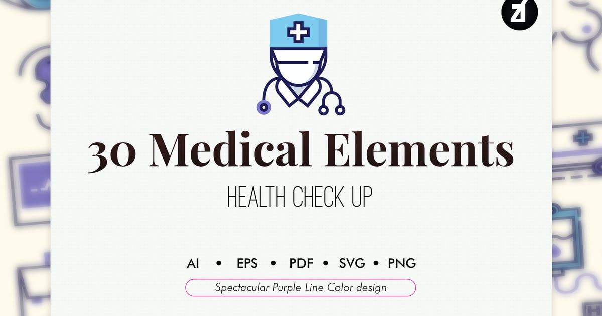 30 Medical Elements by Chanut_industries