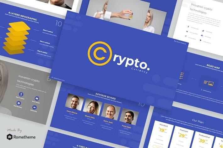 Thumbnail for Crypto - Presentation Template
