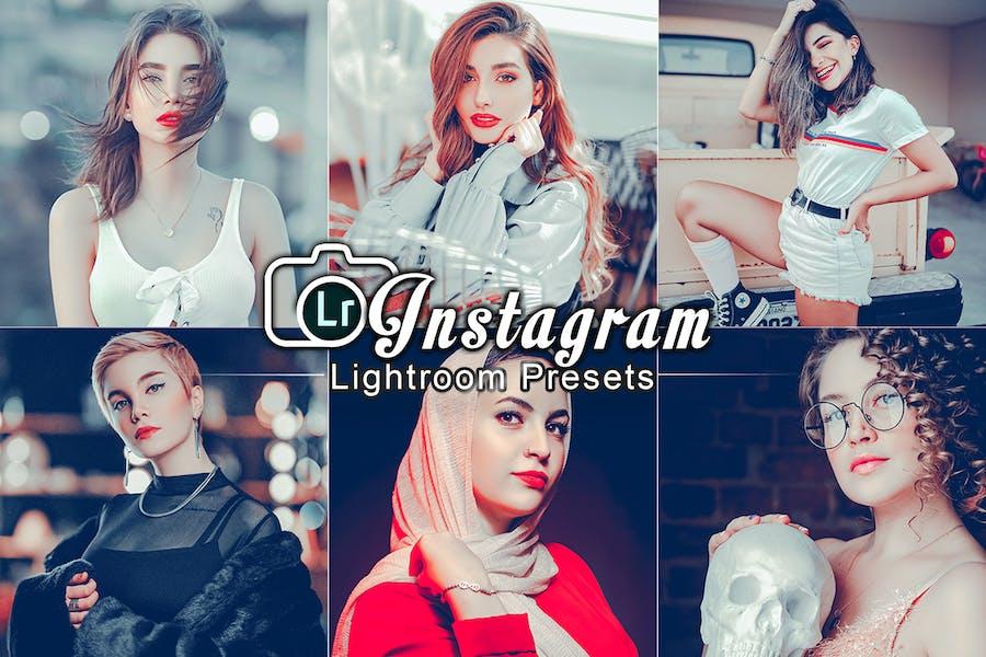 Instagram Портрет Пресеты Lightroom