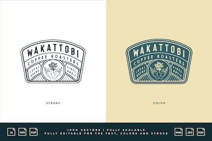Logo du café - Rôtisseurs à café Wakattobi