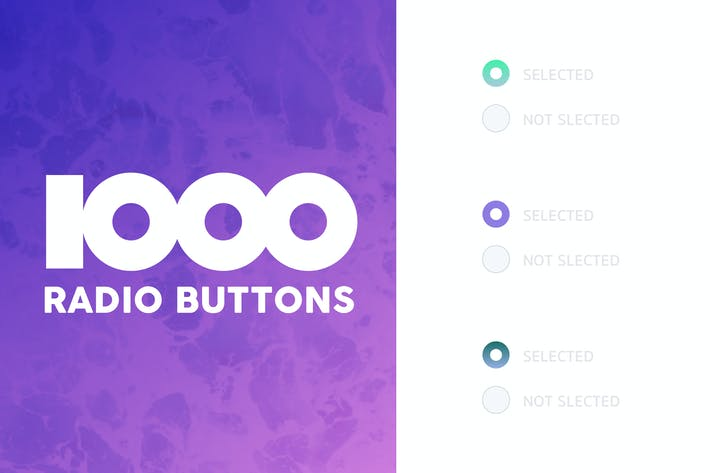 Thumbnail for 1000 Radio Buttons Themes