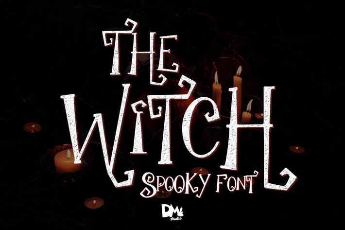 Thumbnail for The Witch - Spooky Font