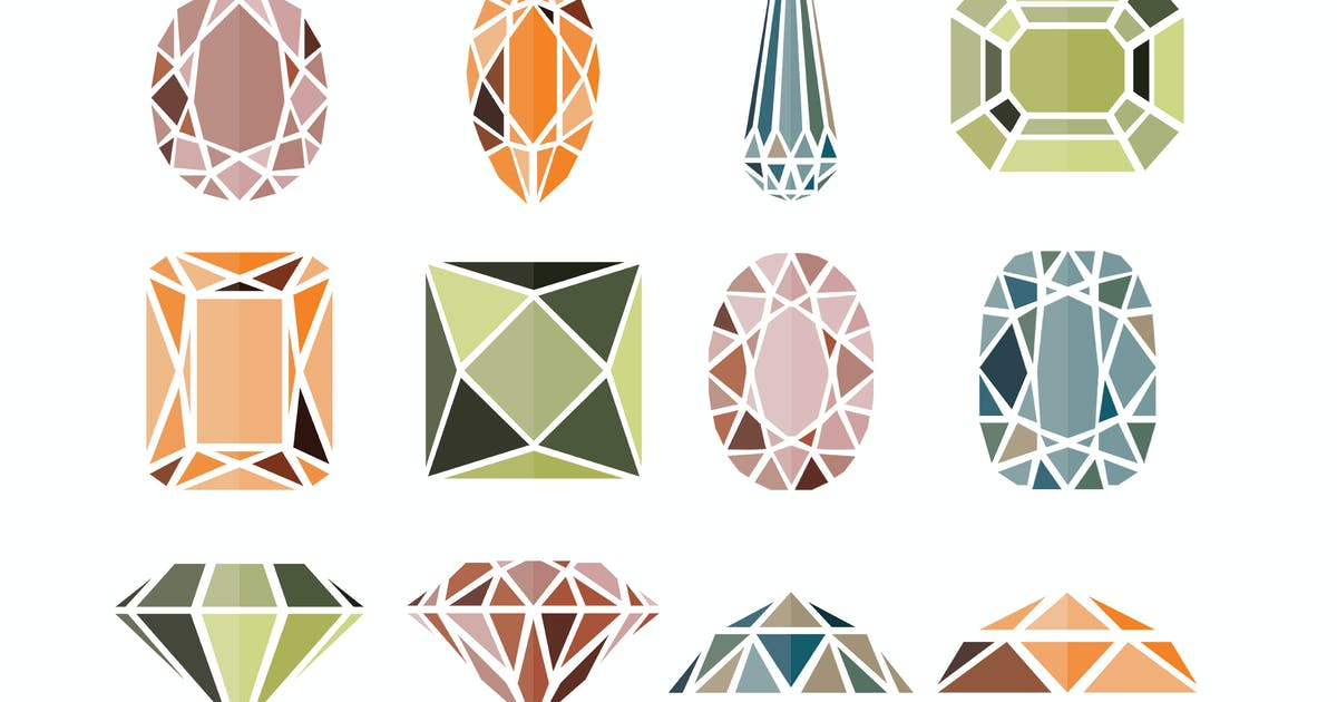 Download 12 Diamond Icons by LEVELII