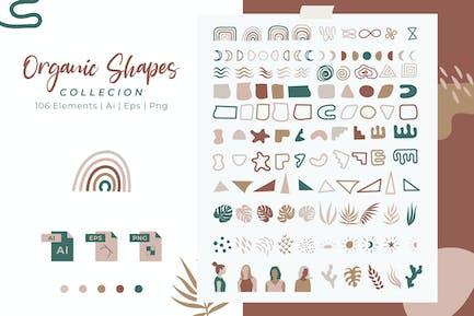 Colleción Formas Orgánicas Vol. 01