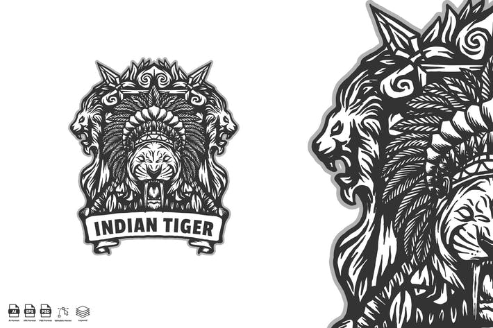 Thumbnail for Indian tiger