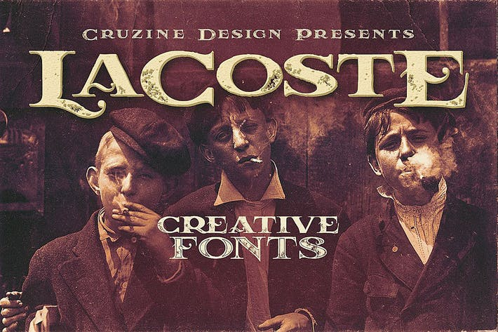 Cover Image For LaCoste Typeface