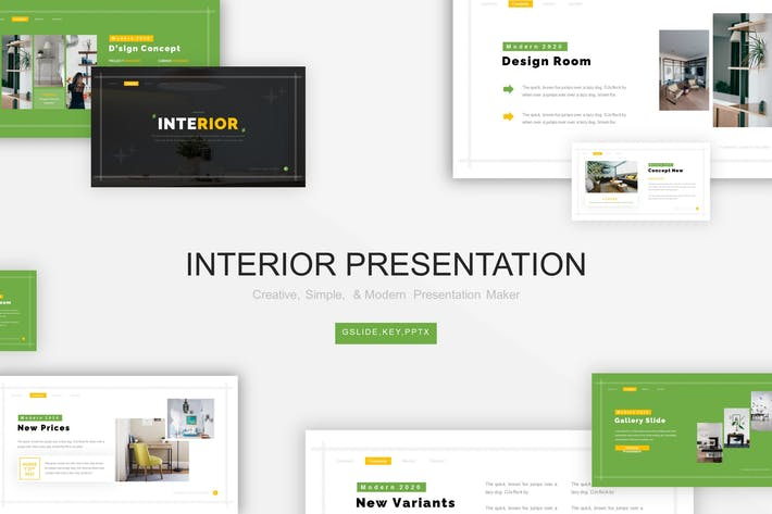 Thumbnail for Interior Presentation Template
