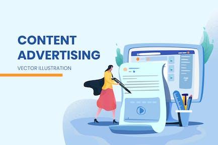 Publicidad de contenido