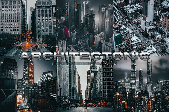 Thumbnail for Architectonic Photoshop Actions