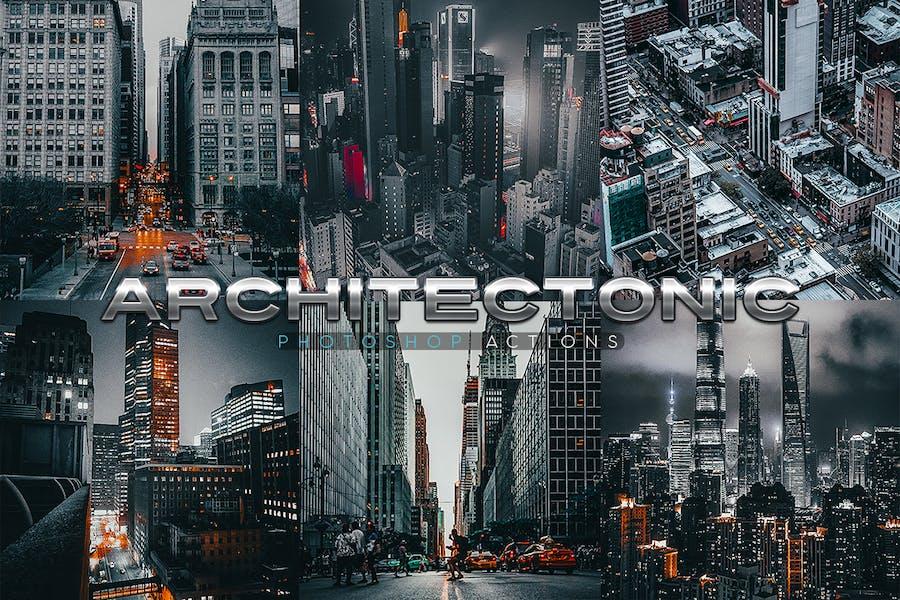 Архитектонические действия Photoshop