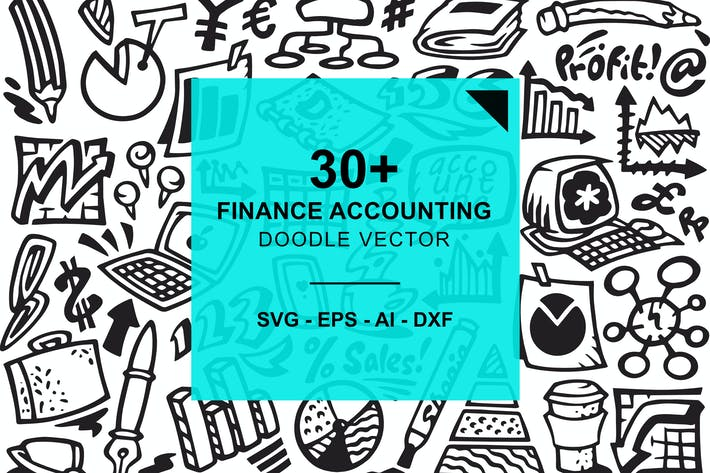Thumbnail for Finance and Accounting Doodles