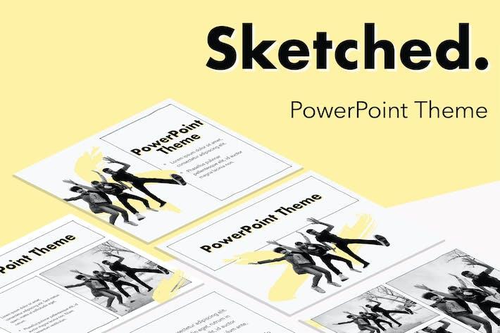 Thumbnail for Эскиз Тема PowerPoint