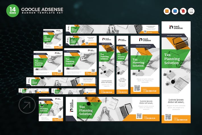 Thumbnail for 14 Tax Planning Solution Google Adsense Web Banner