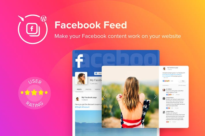 Thumbnail for WordPress Facebook Feed Plugin